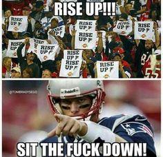 AMAZING comeback! New England Patriots Football, Patriots Fans, Nfl Memes, Football Memes, Amazing Comebacks, Go Pats, Patriotic Outfit, Boston Sports, Football Baby