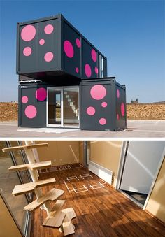 2+ WEEKEND HOUSE CONTAINER