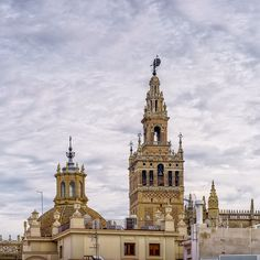 Giralda, Seville - The Giralda, Bell Tower of Seville's Cathedral. It happens to be the view from my new terrace)) I hope you like