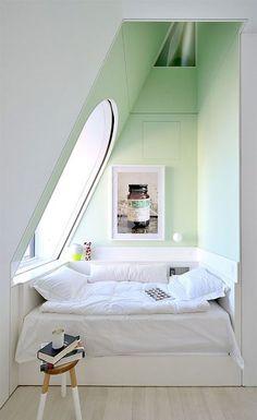 En alcôve - 10 petites chambres bien pensées
