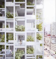 penda to Build Modular, Customizable Housing Tower in India,© penda                                                                                                                                                                                 More