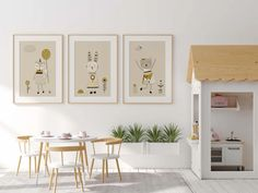 Neutral Nursery Wall Art Print Scandi Nursery Prints Girls | Etsy Nursery Decor Boy, Nursery Wall Art, Nursery Prints, Bedroom Decor, Astronaut Nursery, Design Hall, Design Design, Modern Design, Custom Design