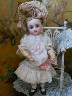 ~~~Gorgeous French Bisque Bebe ,Figure C by Jules Steiner ~~~
