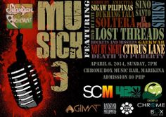 « [SMMP] 04.06.14 MuSICK 3 » Chrome Box, Marikina »
