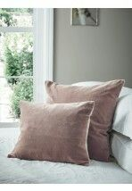 Cox and cox Luxury Cushions, Pink Cushions, Pink Throws, Cox And Cox, Decorative Cushions, Drawing Room, Velvet, Throw Pillows, Bedroom