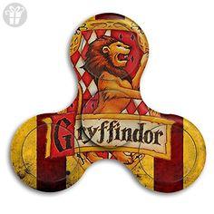 Harry Potter Gryffindor Flag EDC Tri Fidget Spinner Hand Spinner Finger Spinner Finger Toy Relieve Stress High Speed Focus Toy For Adult And Children - Fidget spinner (*Amazon Partner-Link)