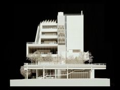 renzo-piano-whitney-museum, architectural model