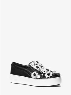 Trent Floral Sequined Slip-On Sneaker_preview0