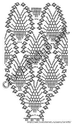 crochelinhasagulhas: Blusa em crochê filé