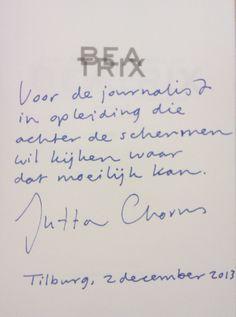 Jutta Chorus, docente bij Fontys Hogeschool Journalistiek