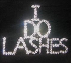 I do lashes! Not extensions- real lashes! They will look just as good with 3d fiberlash mascara!!! Www.doubledlashfrenzy.com.