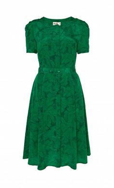 Heron Print Tea Dress - Temperley London