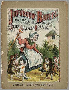 Juffrouw Ruffel en Hare Zeven Geleerde Poesjes, published in Utrecht, 1823