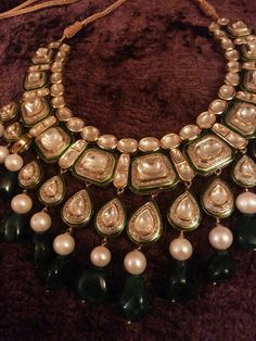 Mine! All mine! Jadau Diamond Polki Necklace