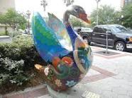 Swans of downtown Lakeland FL