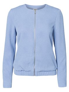 Bomber jacket from VERO MODA in pretty pastel blue.
