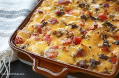 It doesn't get better than beef, bacon and gooey cheddar—try this bacon cheeseburger pasta bake recipe!
