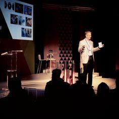 Alan Herrick, Sapient CEO & Co-Chairman, welcoming guests to iEX 2013 (photo by Mike Kus)