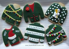 coppergifts.com  Ugly Sweater cookies