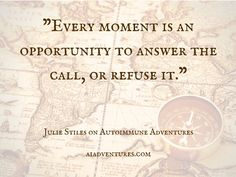 How do we respond to the call to adventure? Saying yes sets us on the path to healing and transformation. Episode 15 of Autoimmune Adventures. aiadventures.com Autoimmune, Healing, In This Moment, Adventure, Sayings, Lyrics, Adventure Movies, Adventure Books, Quotations