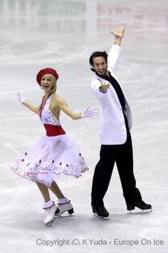 Tanith Belbin & Ben Agosto-Ice Dancing costume inspiration for Sk8 Gr8 Designs