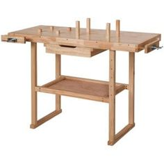 Wooden Workbench Bench Crafts Table Carpentry Wood Craftsmanship Carpenter for sale online Garage, Drafting Desk, Carpentry, Woodworking Projects, Bench, Furniture, Home Decor, Products, Woodworking