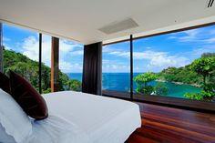 Amazing view from your room - Naka Phuket resort in Thailand