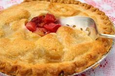 Best Strawberry Rhubarb Pie Recipe from Scratch - MissHomemade.com