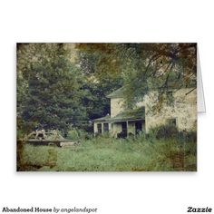 Abandoned House Greeting Card
