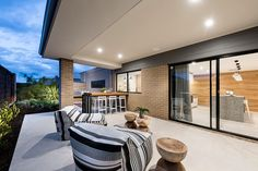 The Sterling Alfresco Home Design by National Homes