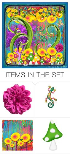 """Bold, Colorful Collage 
