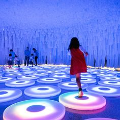 Luminous Fabric Installations : Wonderwall by LIKEarchitects