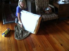 Couch cushions freshen up!