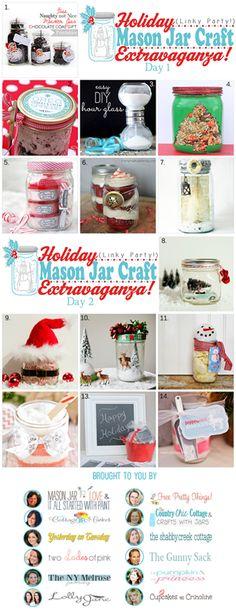 Holiday Crafts With Jars * Mason Jar Crafts Love