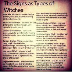 "761 curtidas, 98 comentários - ᚨᛈ • Lindsay • ᛇᛉ (@thewitchoftheforest) no Instagram: ""This is an interesting list of the 12 star signs against a variety of Witch types. As a Taurus, I'm…"""