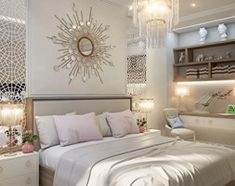 Sypialnia styl Nowojorski - zdjęcie od PRIMAVERA-HOME.COM