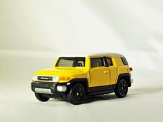TOMICA Street Car Series TOYOTA FJ CRUISER No. 85 Yellow Color