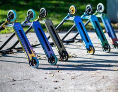 The Blunt Prodigy S8 Complete scooter is the undisputed #1 freestyle scooter sold worldwide. The new Blunt Prodigy S8 Stunt Scooter is available in Ripped Knees scooter store.