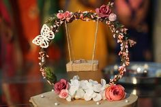 Add more creative decoration to your event. Available on rent too.DM for order . Add more creative decoration to your event. Available on rent too.DM for order . Wedding Gift Baskets, Wedding Gift Wrapping, Engagement Gift Baskets, Wedding Crafts, Wedding Favors, Diy Wedding, Ring Holder Wedding, Ring Pillow Wedding, Engagement Decorations
