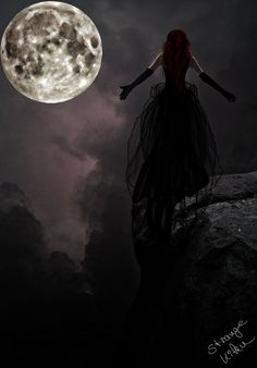 My moon, my goddess, open your heart, please let me in, I will serve you from the start.