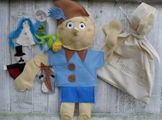 Pinocchio puppet story bag - Puppets in a bag www.puppetsinabag.co.uk