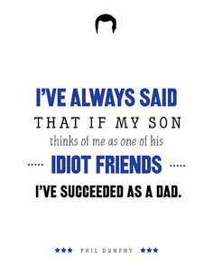 Phil Dunphy Modern Family Print TV Quote Print Dad by PopArtPress