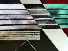 """Geometries,"" original abstract new media by artist Claudio Boczon (Brazil) available at Saatchi Art #SaatchiArt"