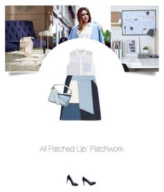 """""""Untitled #346"""" by soledestate ❤ liked on Polyvore featuring Safavieh, 3.1 Phillip Lim, Victoria, Victoria Beckham, Prada, Loewe and patchwork"""