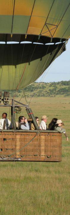African Hot Air Balloon Safari
