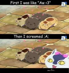Hetalia Kitties by ChibiKitsune-hime. I was like that too.