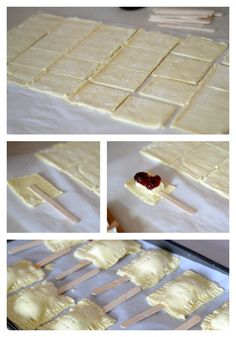 Mini Brie Poptarts via Double Dutty Mommy >> #WorldMarket Dreaming of Desserts #Recipe