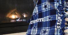 NFL Dallas Cowboys Fleece Tie Blanket by ScarlettMonkeyCrafts on Etsy