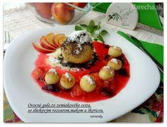 Slivkové gule ináč a rýchlejšie (fotorecept) - recept Panna Cotta, Ale, Ethnic Recipes, Food, Basket, Dulce De Leche, Meal, Eten, Ales