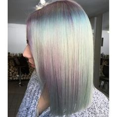 I Like this Iridescent Hair Color!!